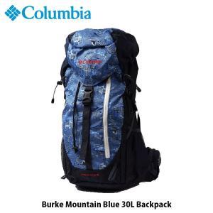 コロンビア Columbia リュックサック バークマウンテンブルー30L バックパック 30L CarbonAlohaPattern(471) Z-PU8337471OS 国内正規品|hikyrm