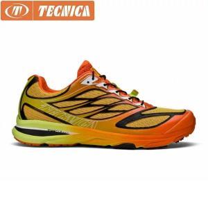 TECNICA テクニカ トレイルランニングシューズ メンズ MOTION FITRAIL 11232700006 ORANGE×LIME TEC11232700006|hikyrm