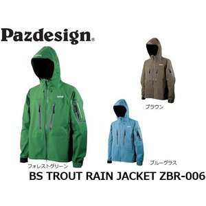パズデザイン Pazdesign BSトラウトレインジャケット BS TROUT RAIN JACKET ZBR-006 ZBR006|hikyrm