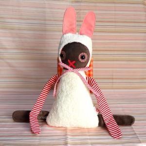 esthex エステックス ぬいぐるみ うさぎ ローラ 大 Lola rabbit おしゃれ かわいい 出産祝いや誕生日のプレゼントに!|hilcy