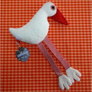esthex エステックス ぬいぐるみ  あひる サム 大 Duck Sam おしゃれ かわいい 出産祝いや誕生日のプレゼントに!|hilcy