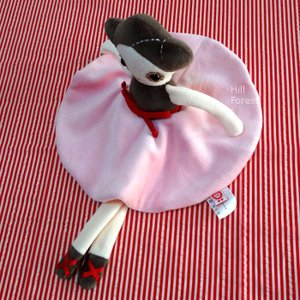esthex エステックス バレリーナ 人形  小 アナ ジュニア Anna Jr おしゃれ かわいい ぬいぐるみ 出産祝いや誕生日のプレゼントに!|hilcy
