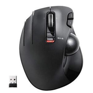 エレコム マウス ワイヤレス (レシーバー付属) トラックボール 左手用 6ボタン ブラック M-XT4DRBK|hilife