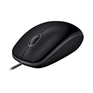 Logicool ロジクール M110sBK 有線 静音 マウス 小型 左右対称型 USB 簡単接続 M110s ブラック 国内正規品 3年|hilife