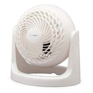 アイリスオーヤマ サーキュレーター 静音 8畳 マカロン マットデザイン 首振り固定 パワフル送風 コンパクト PCF-MKM15N-W ホ|hilife