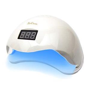 La Curie LED & UV ネイルライト 48W 業界注目低ヒート機能 全ジェル対応 CCFL不使用 自動感知センサー ジェルネイル hilife