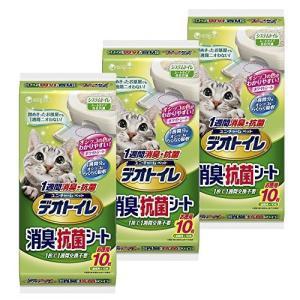 デオトイレ 1週間消臭・抗菌シート 10枚入り×3個 hilife