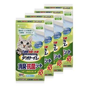 1週間消臭・抗菌デオトイレ取替専用消臭シート10枚×4袋 hilife