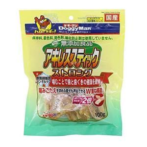 ドギーマン 犬用おやつ 無添加良品 アキレススティック ストロング チキン 100g hilife