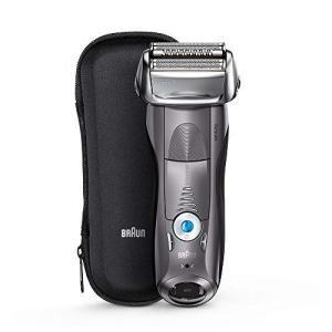 ブラウン シリーズ7 メンズ電気シェーバー 7855s-P 4カットシステム 水洗い可/グレー|hilife
