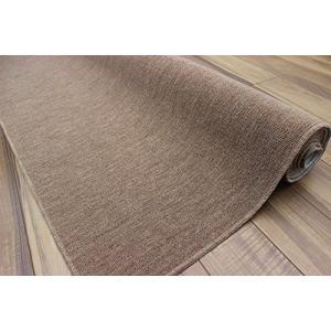防炎 カーペット 4.5畳 ウール 抗菌 絨毯 ラグ じゅうたん 折りたたみ 日本製 江戸間 261×261cmオリオン4.5帖ブラウン|hilife