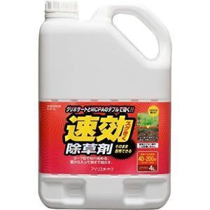アイリスオーヤマ 除草剤 速効除草剤 4L そのまま使える SJS-4L|hilife