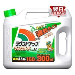 日産化学 除草剤 シャワータイプ ラウンドアップマックスロードALII 4.5L 速効タイプ|hilife