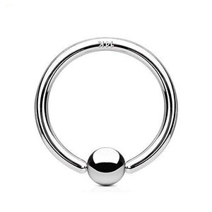 ラプラス laplace ボディピアス body-piercing 14G 14金 ホワイトゴールド キャプティブ ビーズリング ボディーピ hilife
