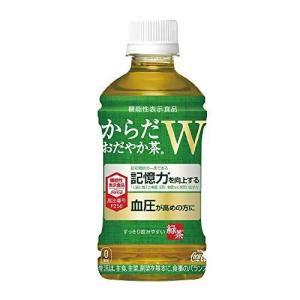 コカ・コーラ からだおだやか茶W 350mlPET ×24本 機能性表示食品 hilife