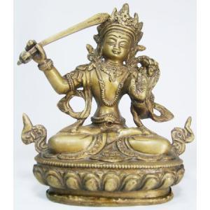 文殊菩薩 密教仏像Bz10 himal