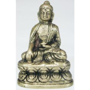 釈迦如来 豆仏 ブロンズ 密教仏像Bz18|himal