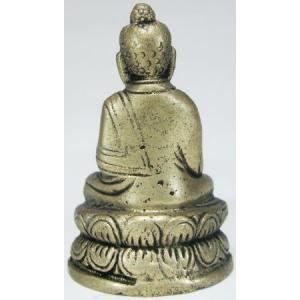釈迦如来 豆仏 ブロンズ 密教仏像Bz18|himal|02