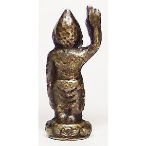 誕生釈迦 豆仏 ブロンズ 密教仏像Bz19|himal|02