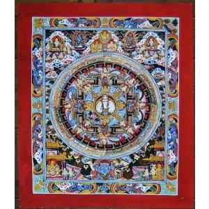11面千手千眼観音菩薩 手描き 曼荼羅Mn0105|himal