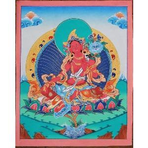 虚空蔵菩薩 手描き曼荼羅Mn0213 himal