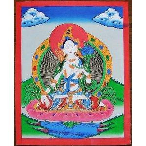 虚空蔵菩薩 手描き曼荼羅Mn0214 himal