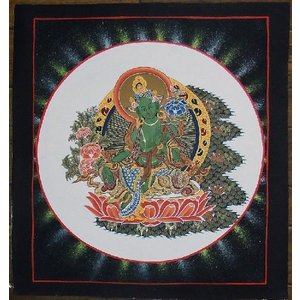 虚空蔵菩薩 手描き 曼荼羅Mn0231|himal