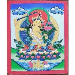 文殊菩薩 手描き曼荼羅Mn0303|himal