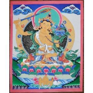 文殊菩薩 手描き曼荼羅Mn0305|himal