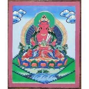普賢菩薩 手描き曼荼羅Mn0401|himal