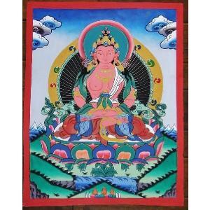 普賢菩薩 手描き曼荼羅Mn0404|himal