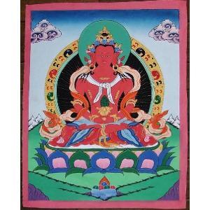 普賢菩薩 手描き曼荼羅Mn0406|himal