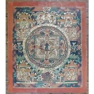 不動明王 手描き曼荼羅Mn0701|himal