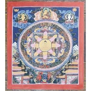 阿弥陀如来 手描き曼荼羅Mn0815 himal