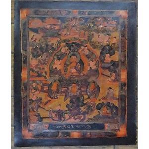釈迦一代記 手描き曼荼羅Mn0902|himal