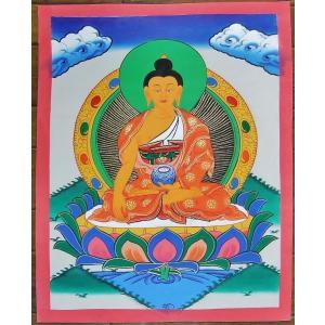 釈迦如来 手描き曼荼羅Mn1005|himal