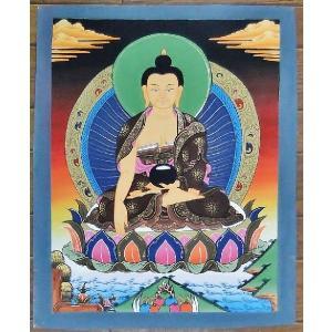 釈迦如来 手描き曼荼羅Mn1008|himal