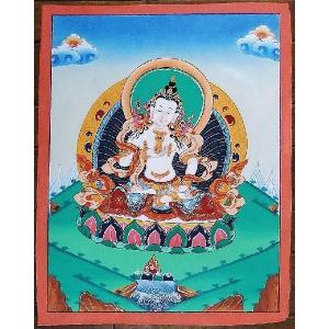 金剛薩多 手描き曼荼羅Mn1063 himal