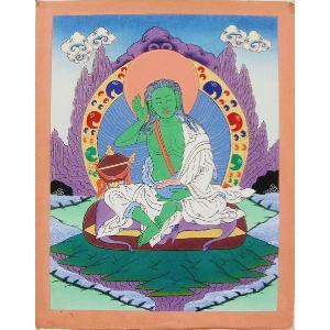 苦行釈迦 手描き曼荼羅Mn1301|himal
