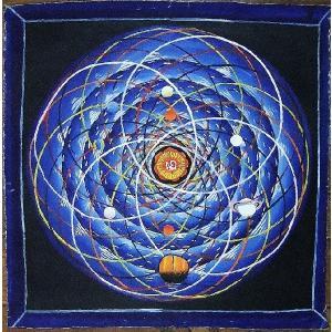 スペース(宇宙)曼荼羅Mn1401 手描き|himal