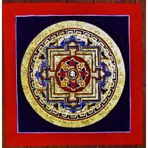 ドルジェ・センバ テルサル密教体系 手描き曼荼羅 Mn1501|himal
