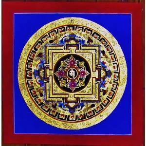 ドルジェ・センバ テルサル密教体系 手描き曼荼羅 Mn1503|himal