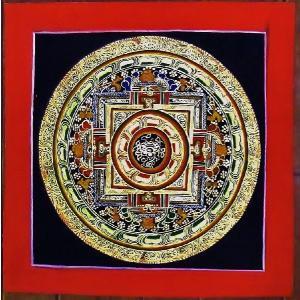 ドルジェ・センバ テルサル密教体系 手描き曼荼羅 Mn1504|himal