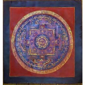 ドルジェ・センバ テルサル密教体系 手描き曼荼羅 Mn1507|himal