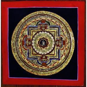 プルバ テルサル密教体系 手描き曼荼羅 Mn1509|himal