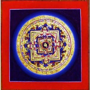 プルバ テルサル密教体系 手描き曼荼羅 Mn1511|himal