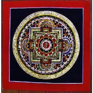 プルバ テルサル密教体系 手描き曼荼羅 Mn1513|himal