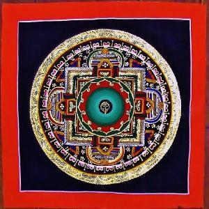 プルバ テルサル密教体系 手描き曼荼羅 Mn1515|himal