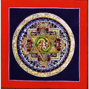 ダーキニー・トゥマ テルサル密教体系 手描き曼荼羅 Mn1517|himal