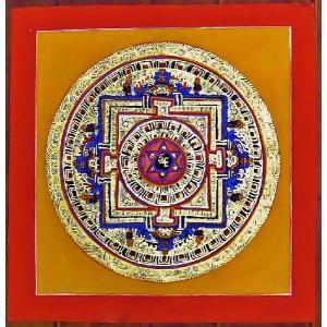 ダーキニー・トゥマ テルサル密教体系 手描き曼荼羅 Mn1519|himal
